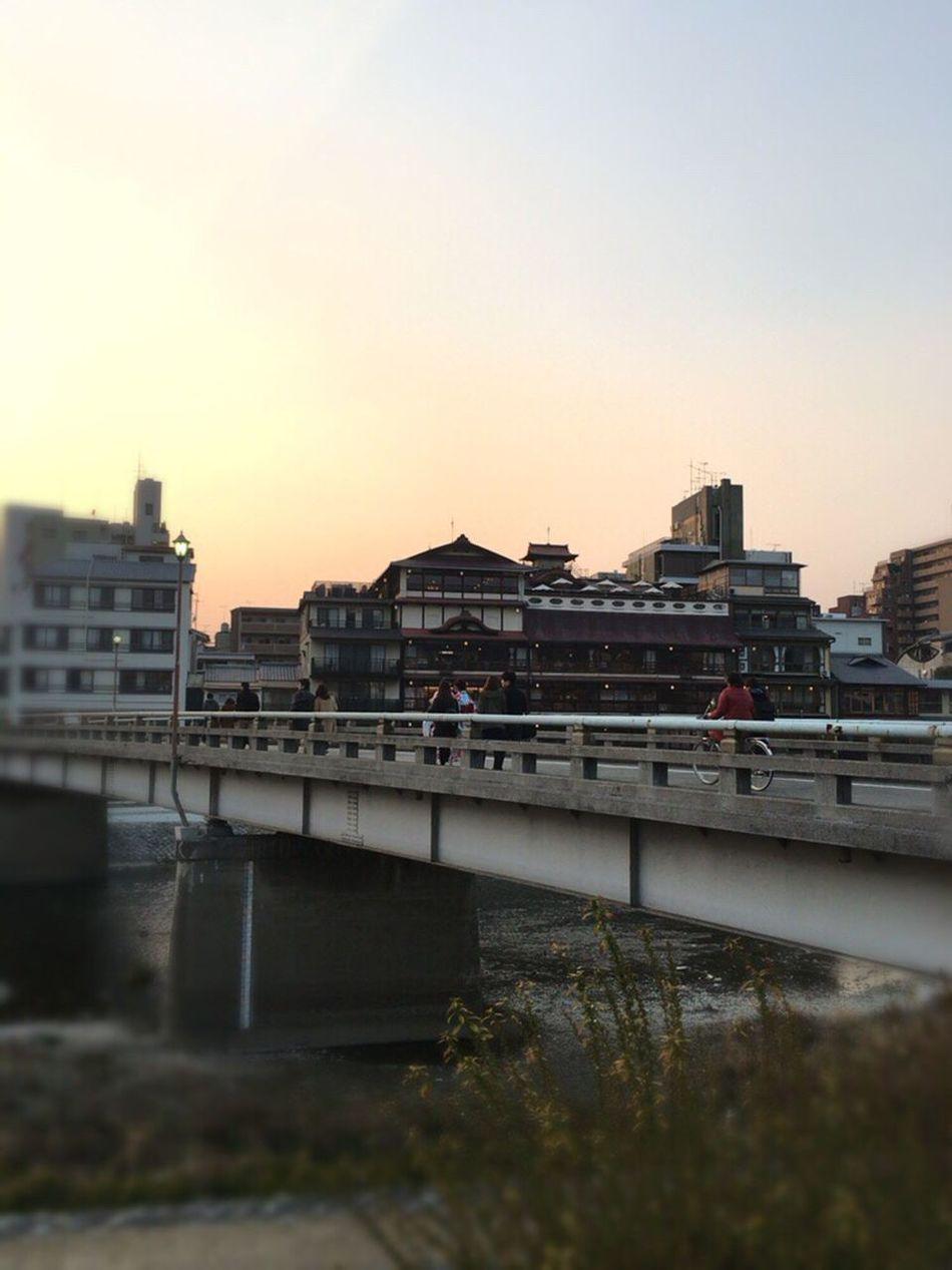Kyoto,japan Kyoto City River Kyoto City