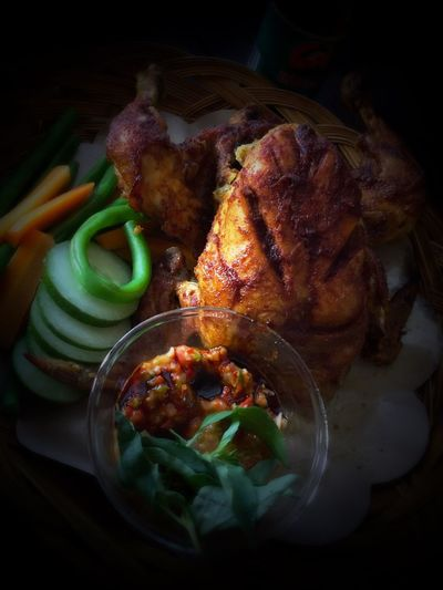 Ayam Panggang u/buka puasa Food Indoors  Chicken Meat First Eyeem Photo