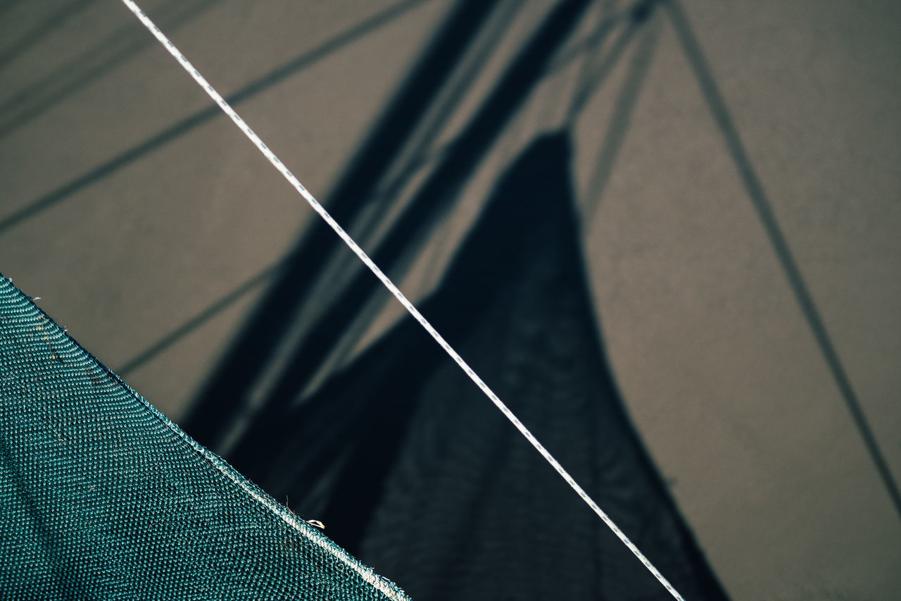 Boat Trip Boat Close-up Day Fishing Boat Fishing Net Harbour High Angle View LINE No People Outdoors Part Of Shadow Ship