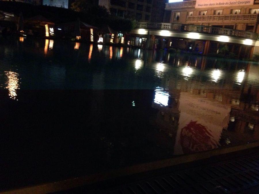 Reflection Pool latergram Last Night
