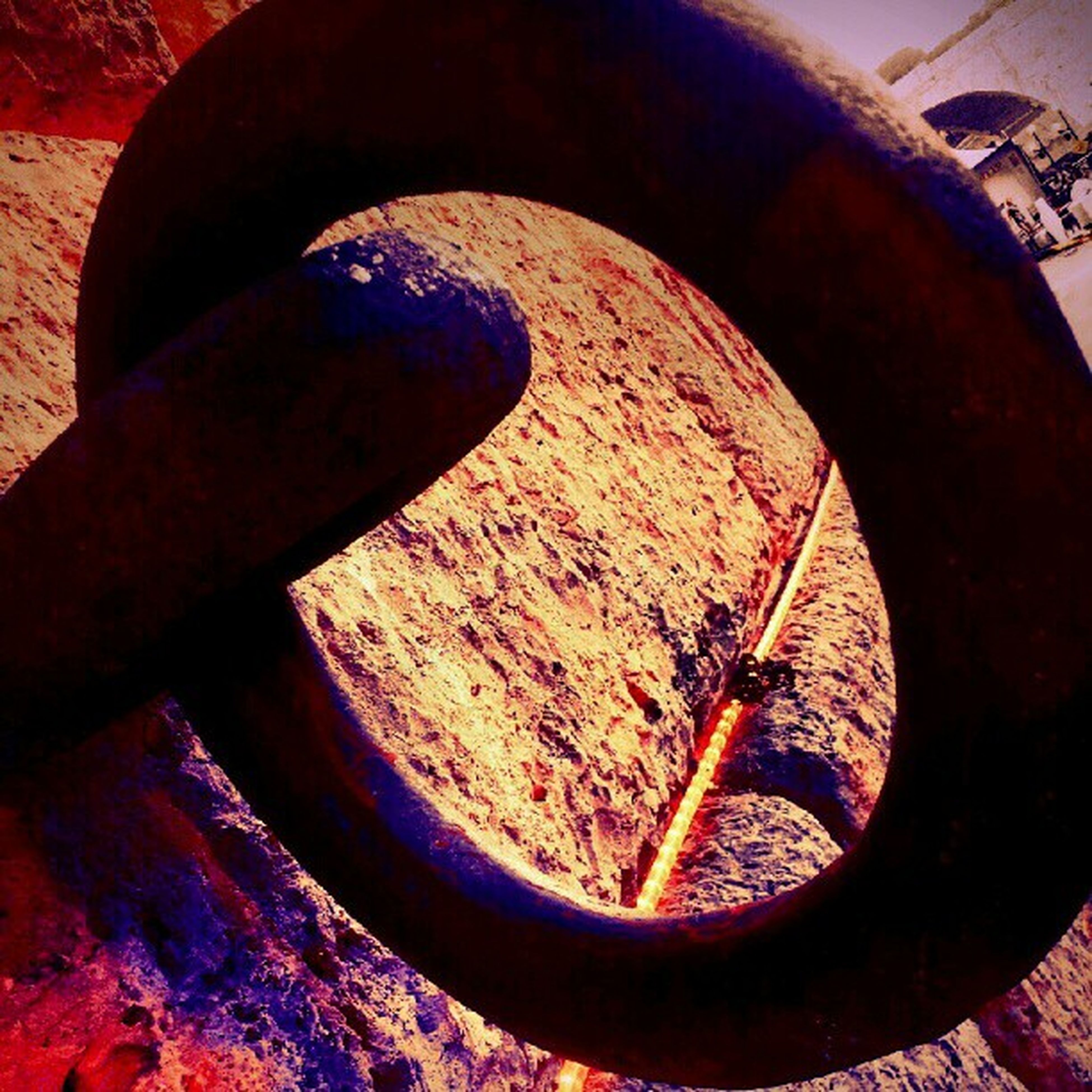 metal, rusty, wheel, metallic, close-up, old, weathered, no people, high angle view, abandoned, outdoors, obsolete, built structure, sunlight, deterioration, circle, day, damaged, run-down, part of