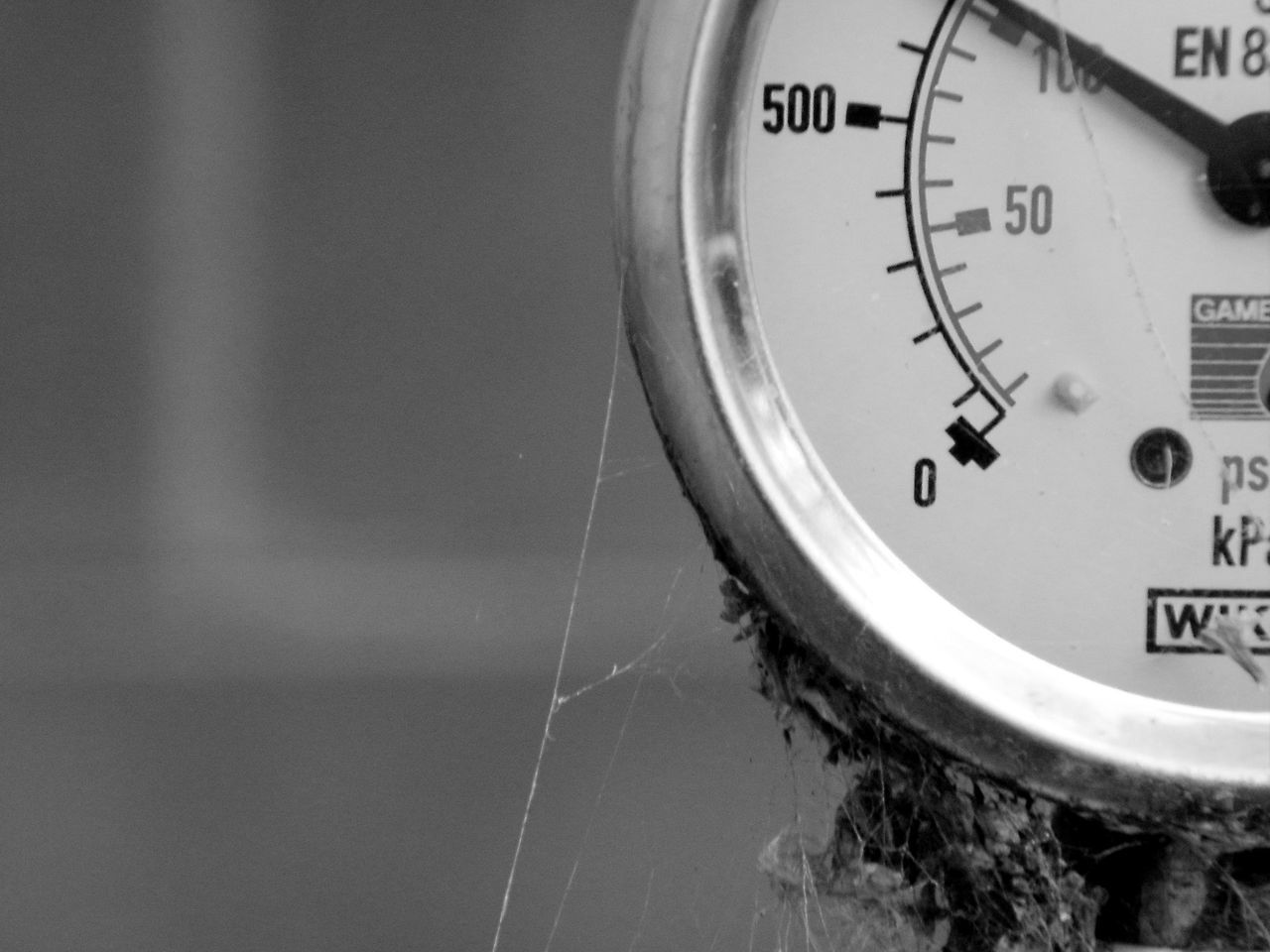 Black And White Photography Clock Close-up Day Gauge Indoors  Instrument Of Time Macro Macro Photography Macro_collection Meter - Instrument Of Measurement Minute Hand No People Number Pressure Gauge Time