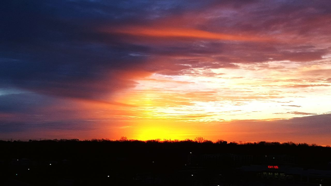 Friday morning sunrise. Life 3 filter
