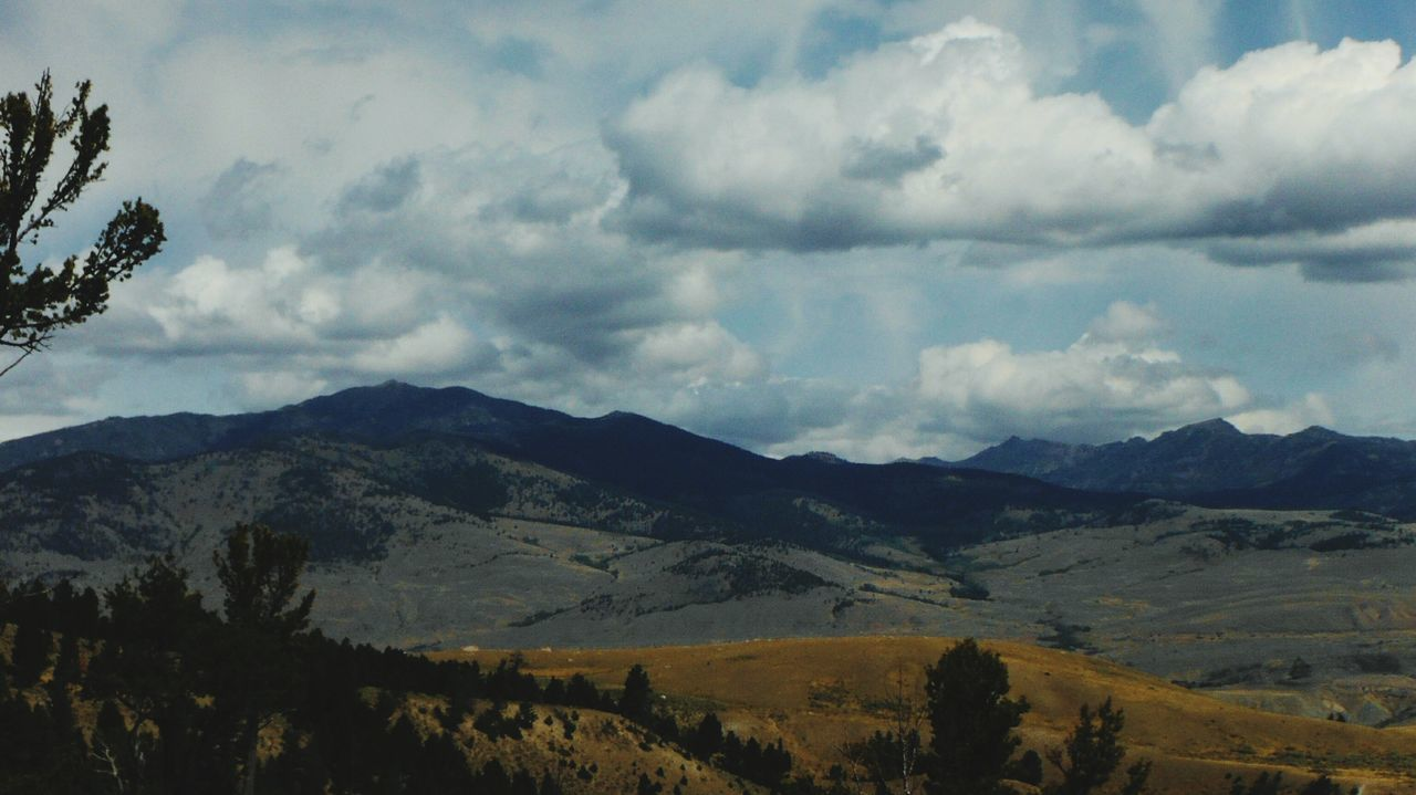 landscape, sky, mountain, nature, no people, beauty in nature, scenics, outdoors, day, range