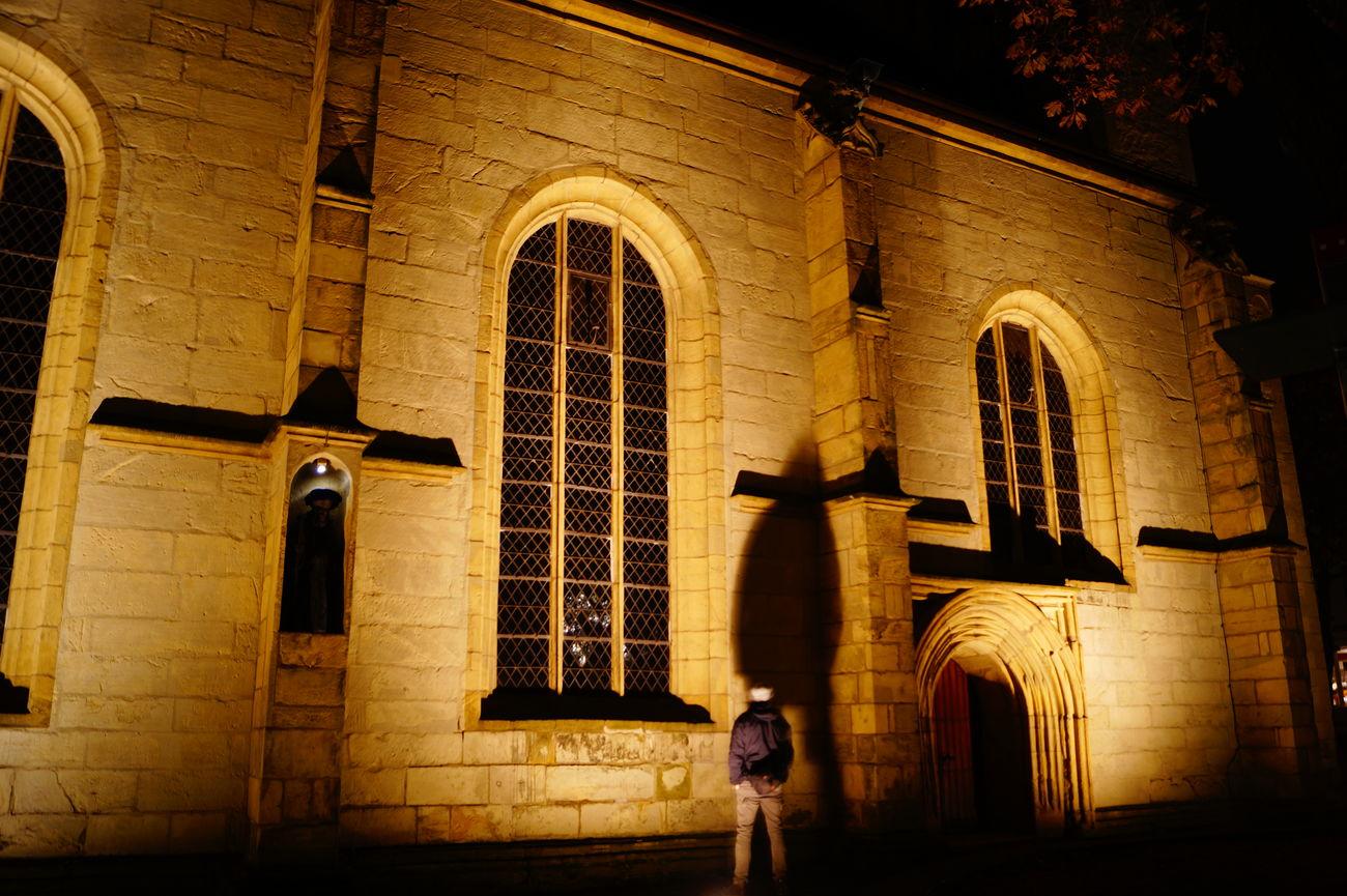 Architecture Building Exterior Built Structure Goslar Kirche Langzeitbelichtung Men Night Outdoors People Religion Schatten Schatten Fotografie Schatteneffekt Schattenspiel  Goslar
