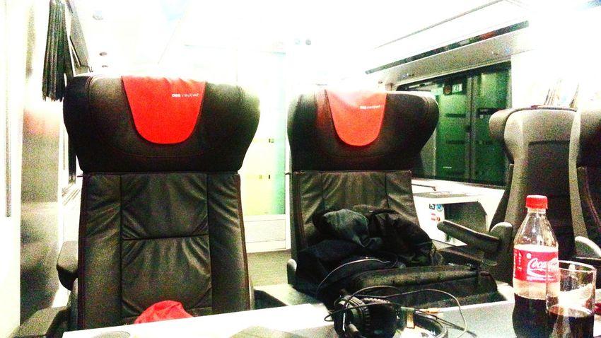Firstclass Railjet Train