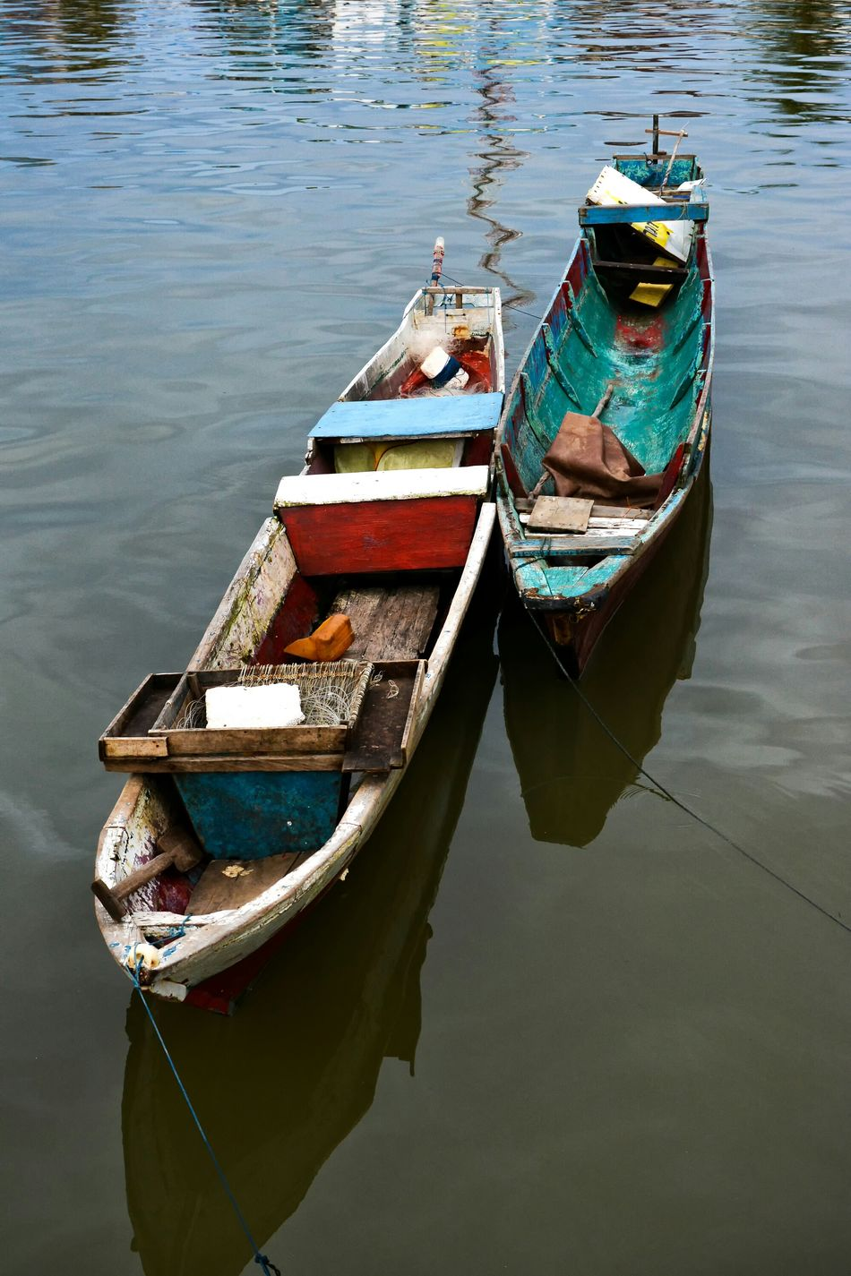 Nature Eye4photography  Fishing Boat Water Reflections Tadaa Community EyeEm Gallery EyeEm Best Shots Kendari Bay