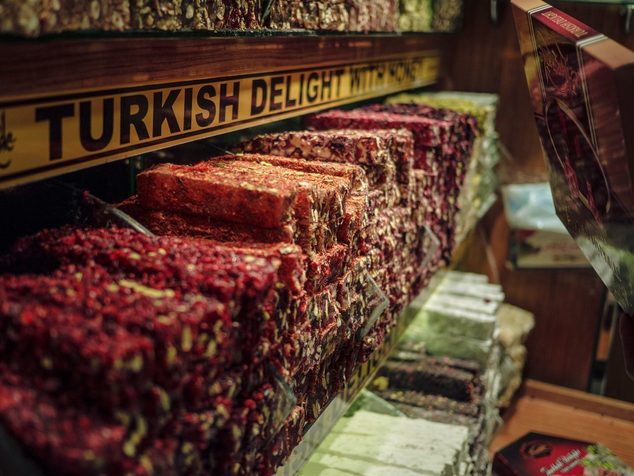 Turkish Delights Food And Drink Food For Sale Indoors  Retail  No People Store Freshness Close-up Day Turkey Turkish Turkish Delight Istanbul