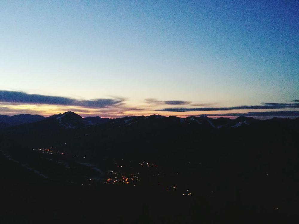 My Year My View Sunset Mountain