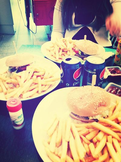 Relax Day With My Girls Fast Food Love It!