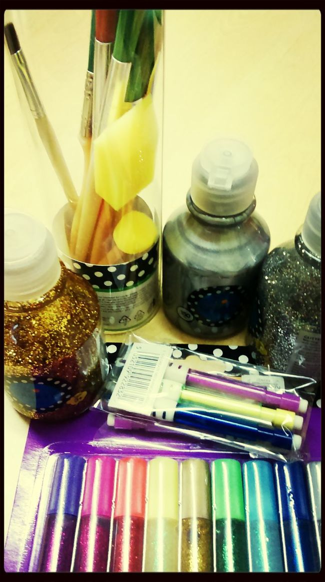 Rox's Creations @ staff accomodation Arts And Crafts Craft Work Materials Glitter