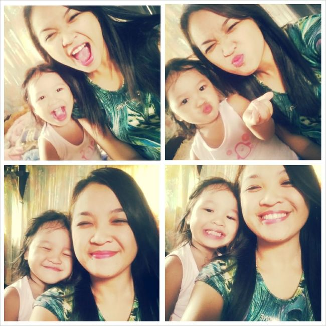 Goofing Around with this Babygirl! Enjoying Life Hello World Happy Day Cute♡ Smile ✌ Wackyface