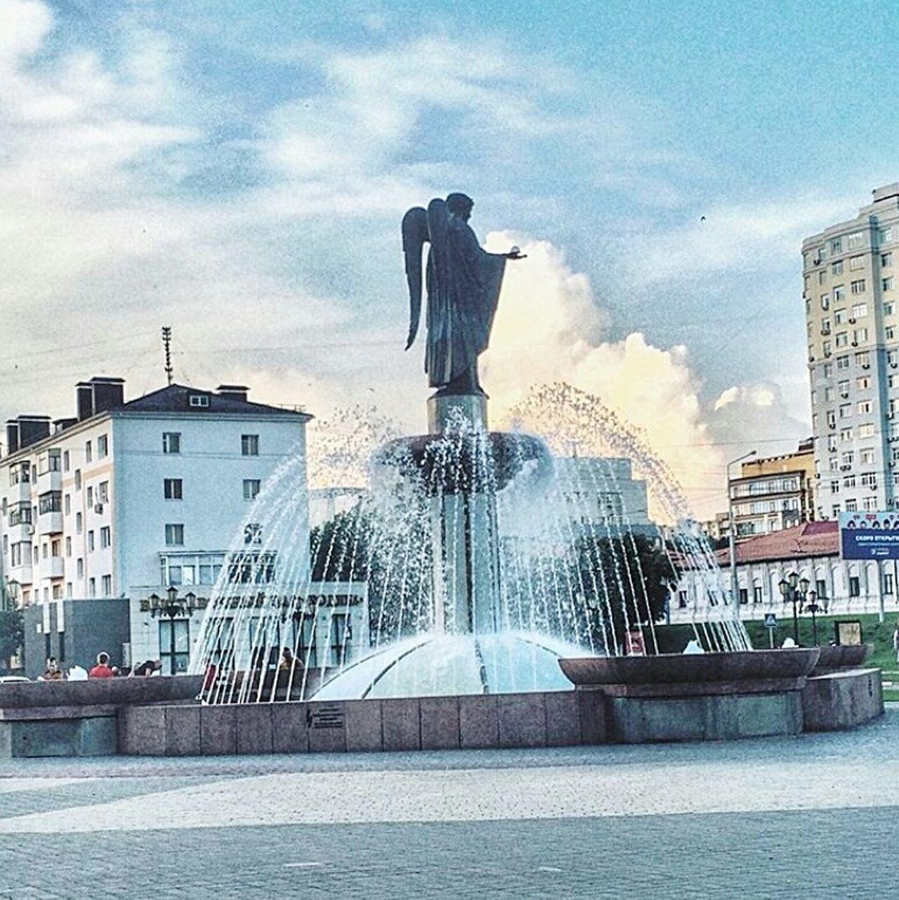 City Architecture памятник площадь фонтан