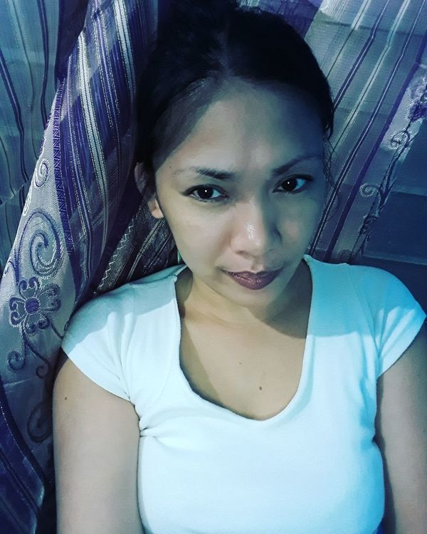 Looking At Camera One Woman Only One Person Front View Indoors  Beauty AyeEm Philippines  Phone Camera Full Length Black Hair