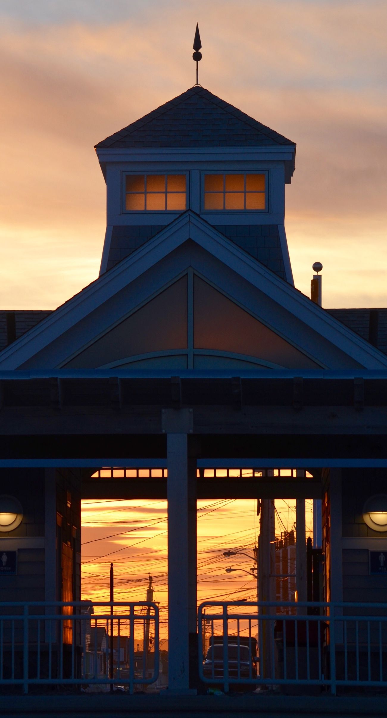 Sunset Architecture Built Structure Building Exterior Sky Silhouette No People Outdoors Day Sunset_collection Sunset_captures Sunset Landscape Roadandscenery