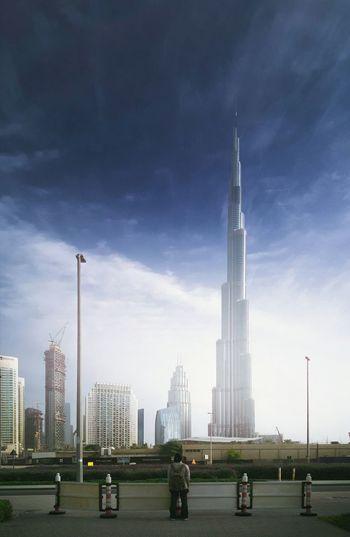 Foggy Days. Fog Burj Khalifa Dubai UAE Wondersoftheworld Architecture Minimalism
