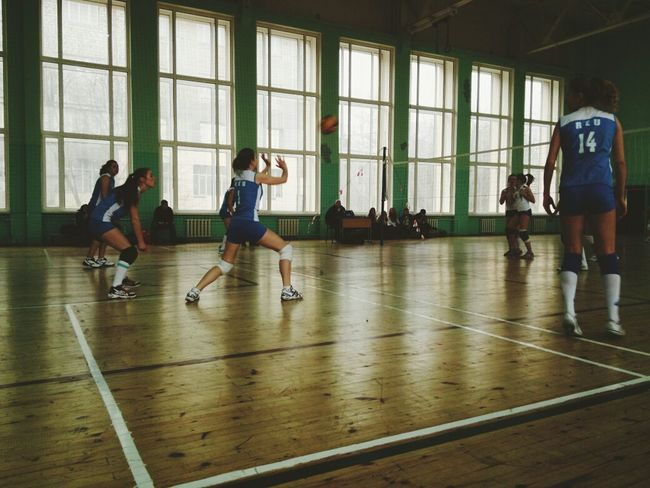 Sport Woman Volleyball Friday A Girl