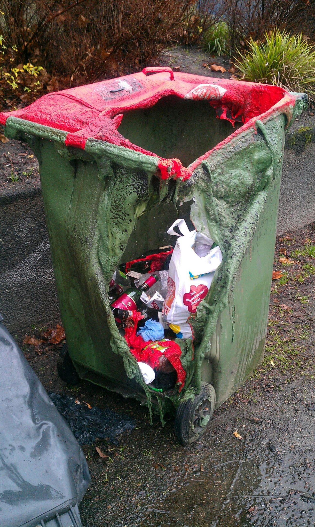 City Trash... Relationships Rubbish Christmas