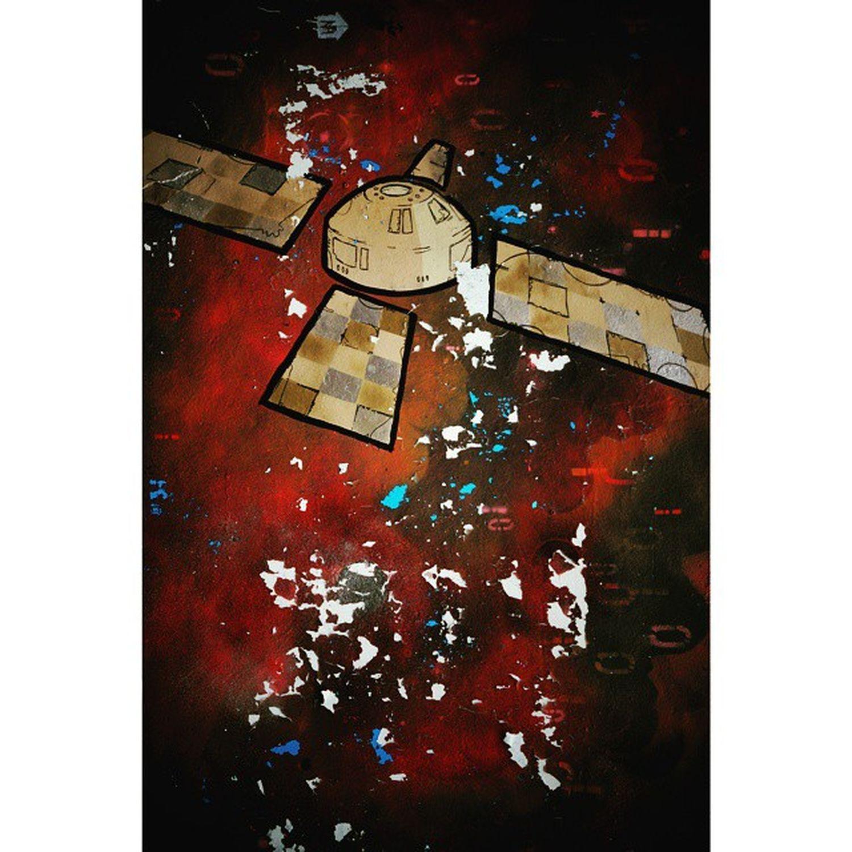 Interstellar: Igersmcr ArtWork Wallspace Northernquarter