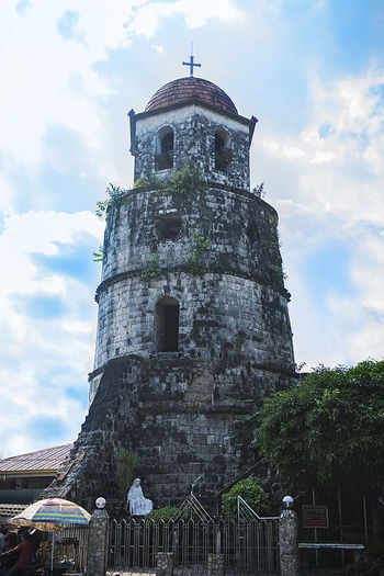 Dumaguete Bell Tower Eyeem Philippines Ancient Ancient Civilization Architecture Bell Tower Building Exterior Built Structure Cloud - Sky Day History Low Angle View No People Outdoors Sky An Eye For Travel