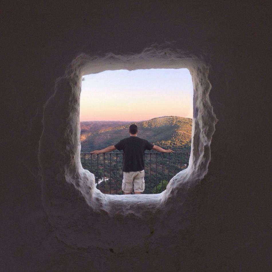 Una ventana con vistas