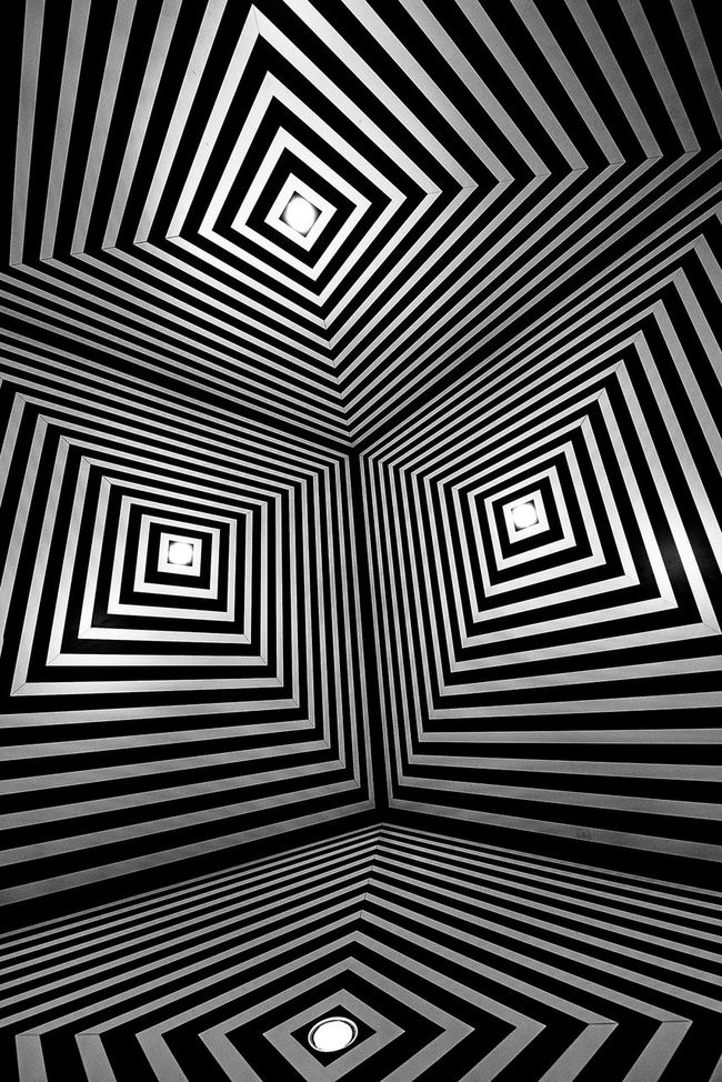 14 24 Nikon Abstract Abstract Art Acid Architecture Art Design Black And White Deformation Exibition Minimal Room Design