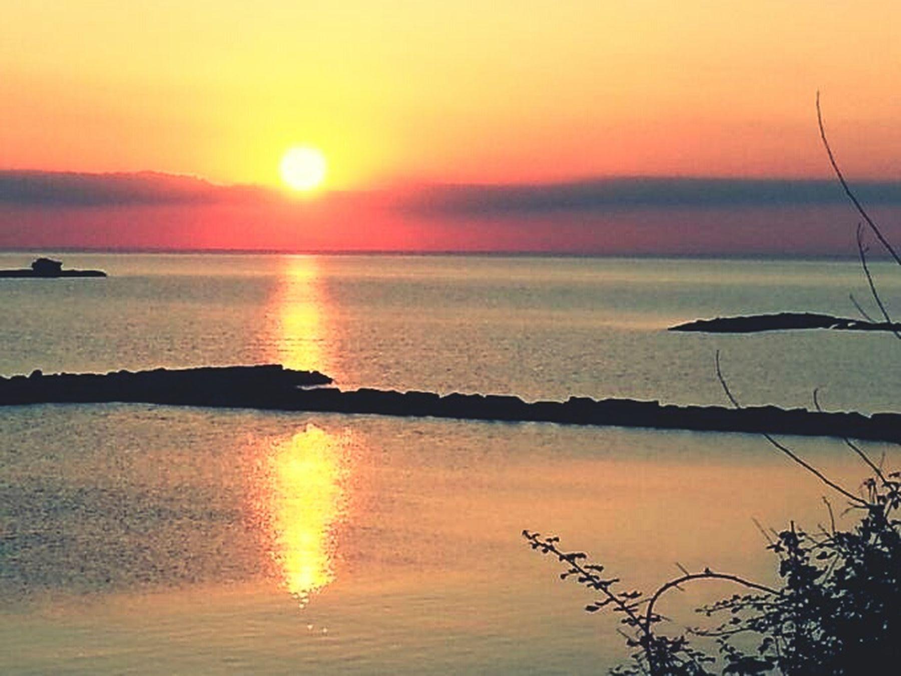 Sun Sunset Relaxing Coastline Photography