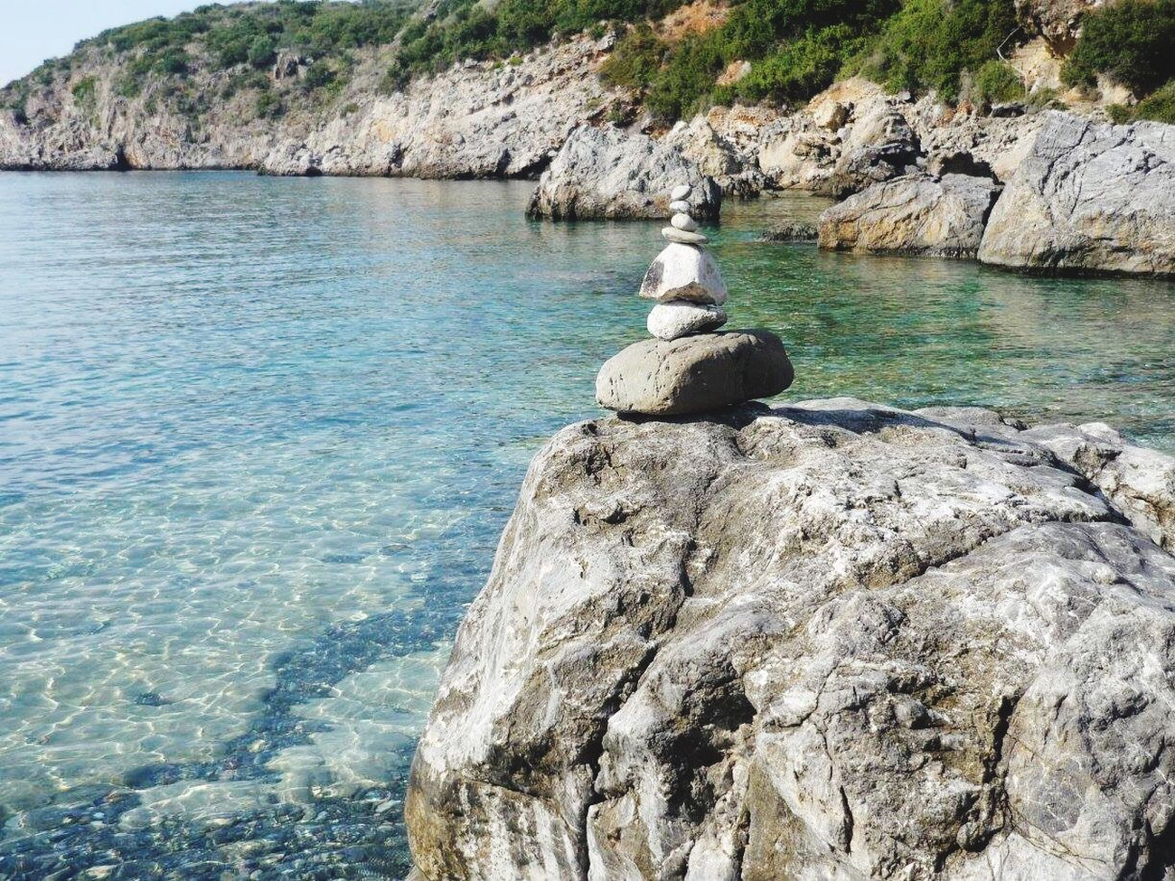 GREECE ♥♥ Rocks And Water Kalamata