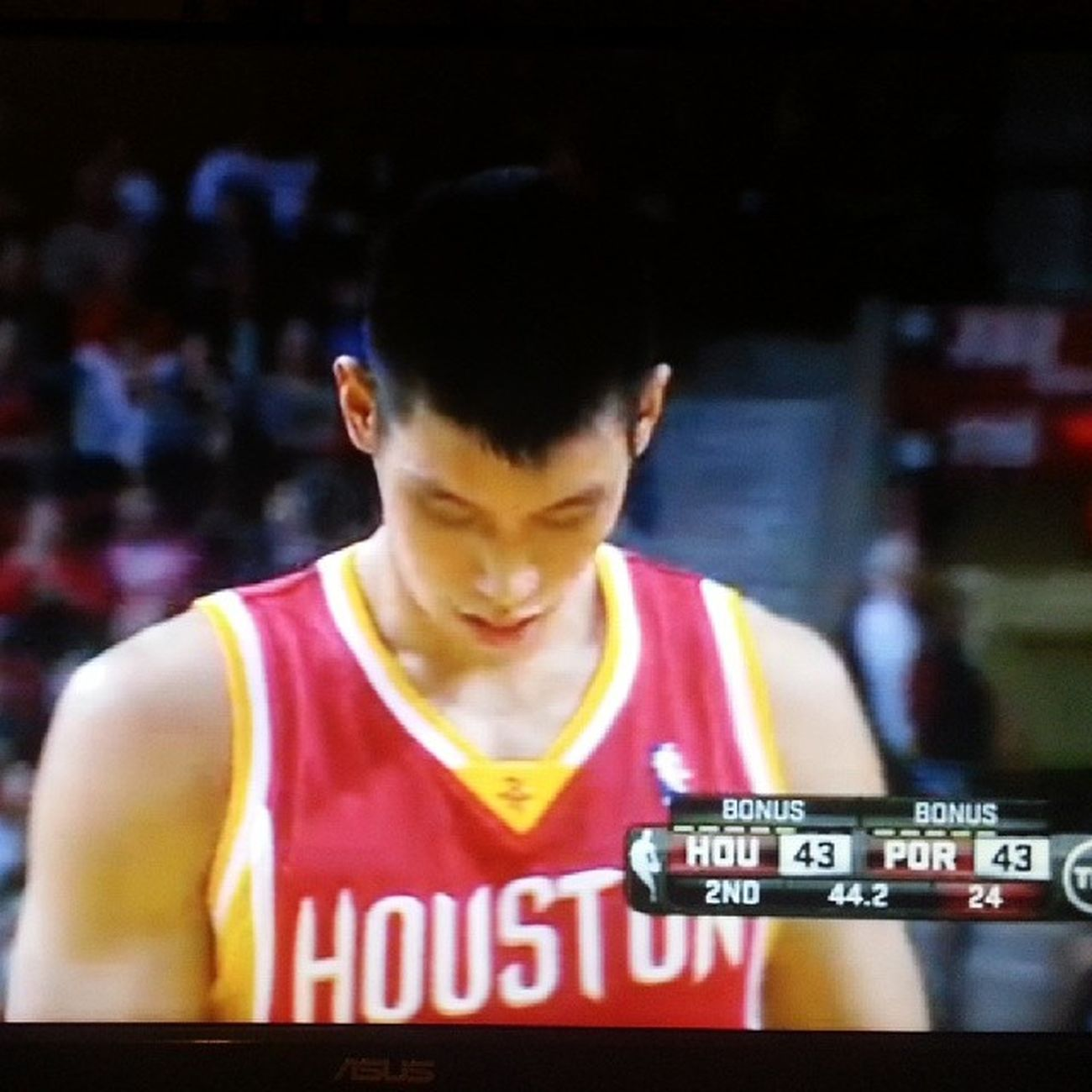 come on! im here to see Linsanity coming back. give Jeremylin more time. Harden is suck. Hou vs. POR