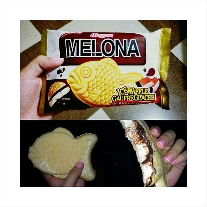 Ice waffle 🍦 Melona