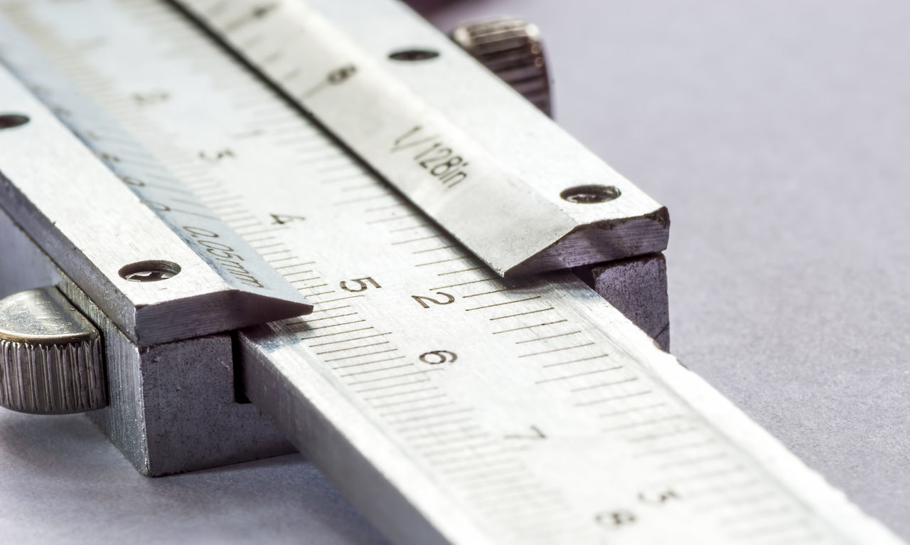 ruler, still life, instrument of measurement, close-up, no people, indoors, hand tool, work tool, focus on foreground, wood - material, day