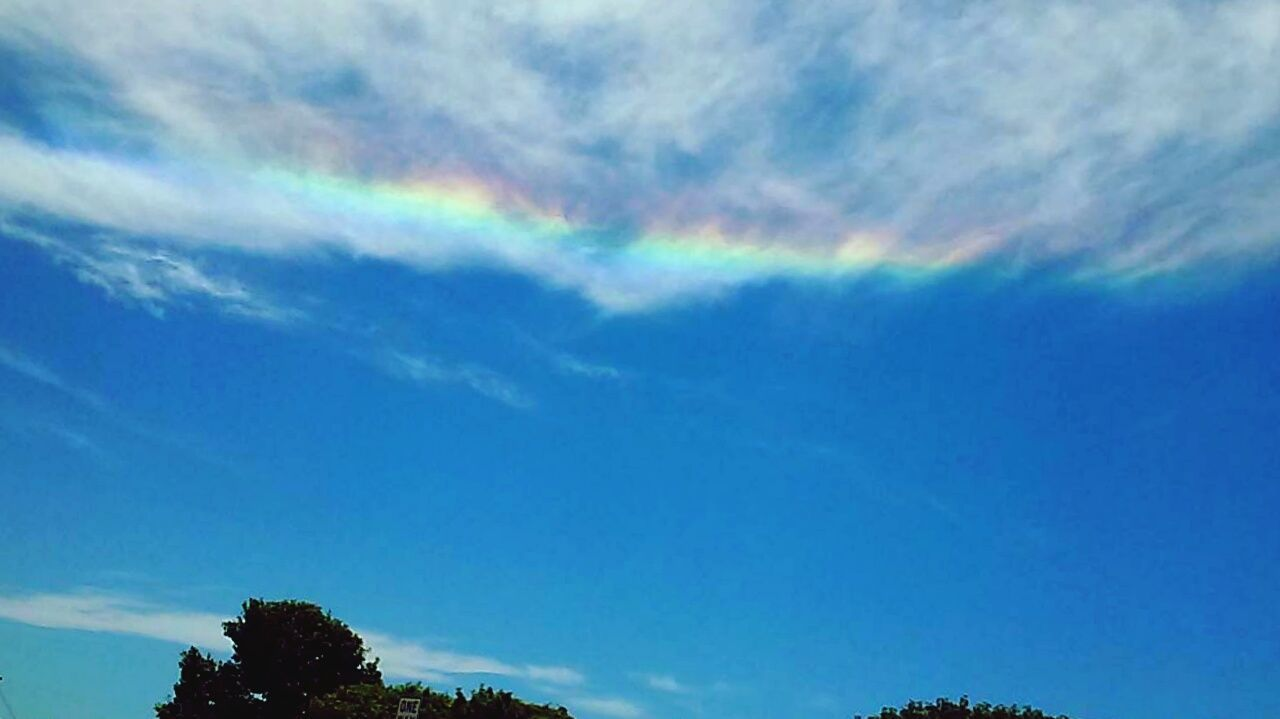Check This Out Badass Legit Rainbow Colors Iridescent Clouds