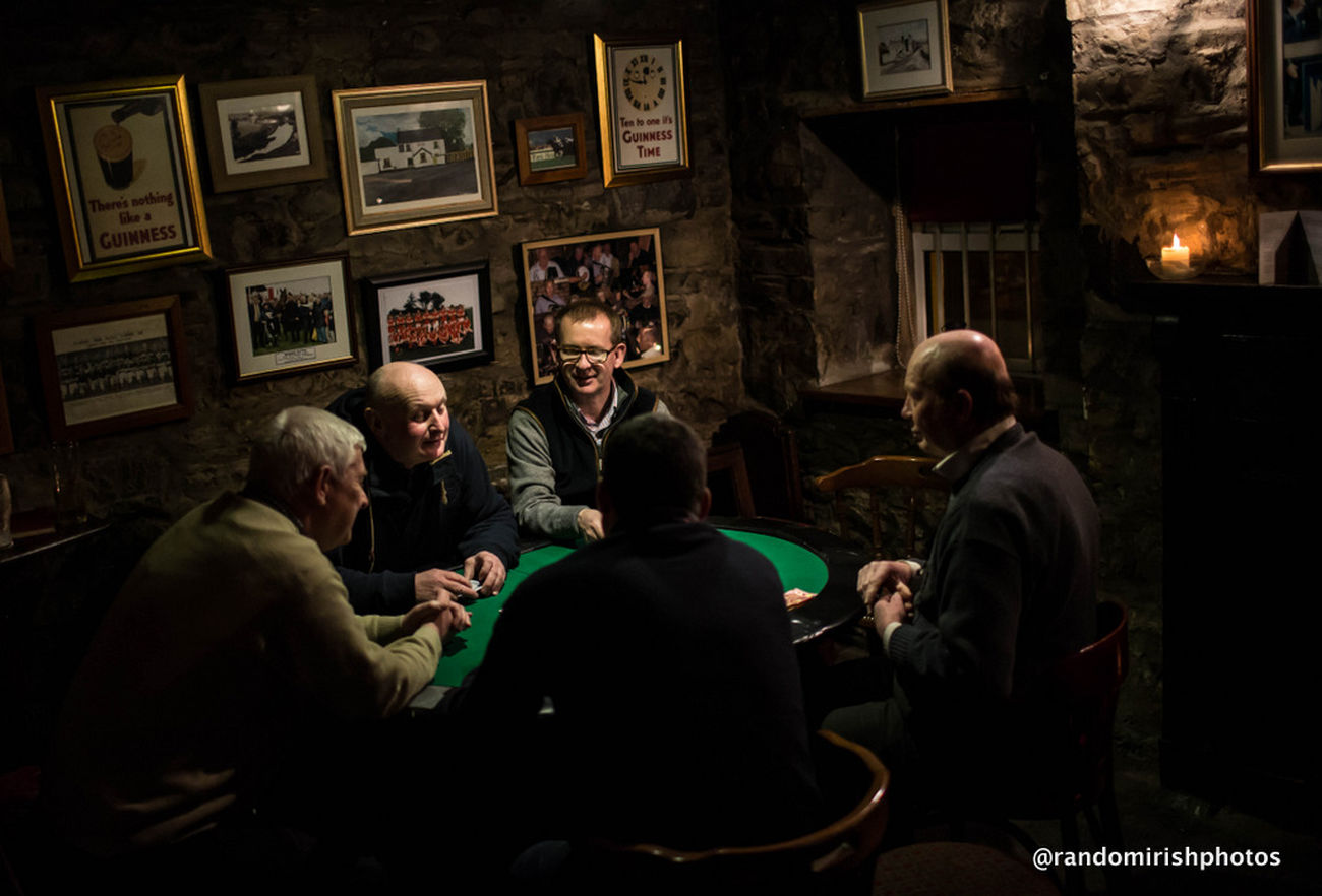 Playing Cards Discover Ireland Pubs Ireland playing cards in Marcie Regan's in Trim, Co Meath.