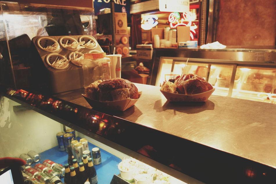 Clam chowder Bread bowls at Fishermans Wharf . San Francisco Bayarea Latenight Clamchowder Mmmmmm Foodporn