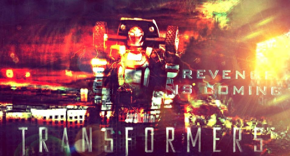 Crazy edit No People Outdoors Day Transformers Autobot Photo Shot By Me Edited By Me 👆 Technology