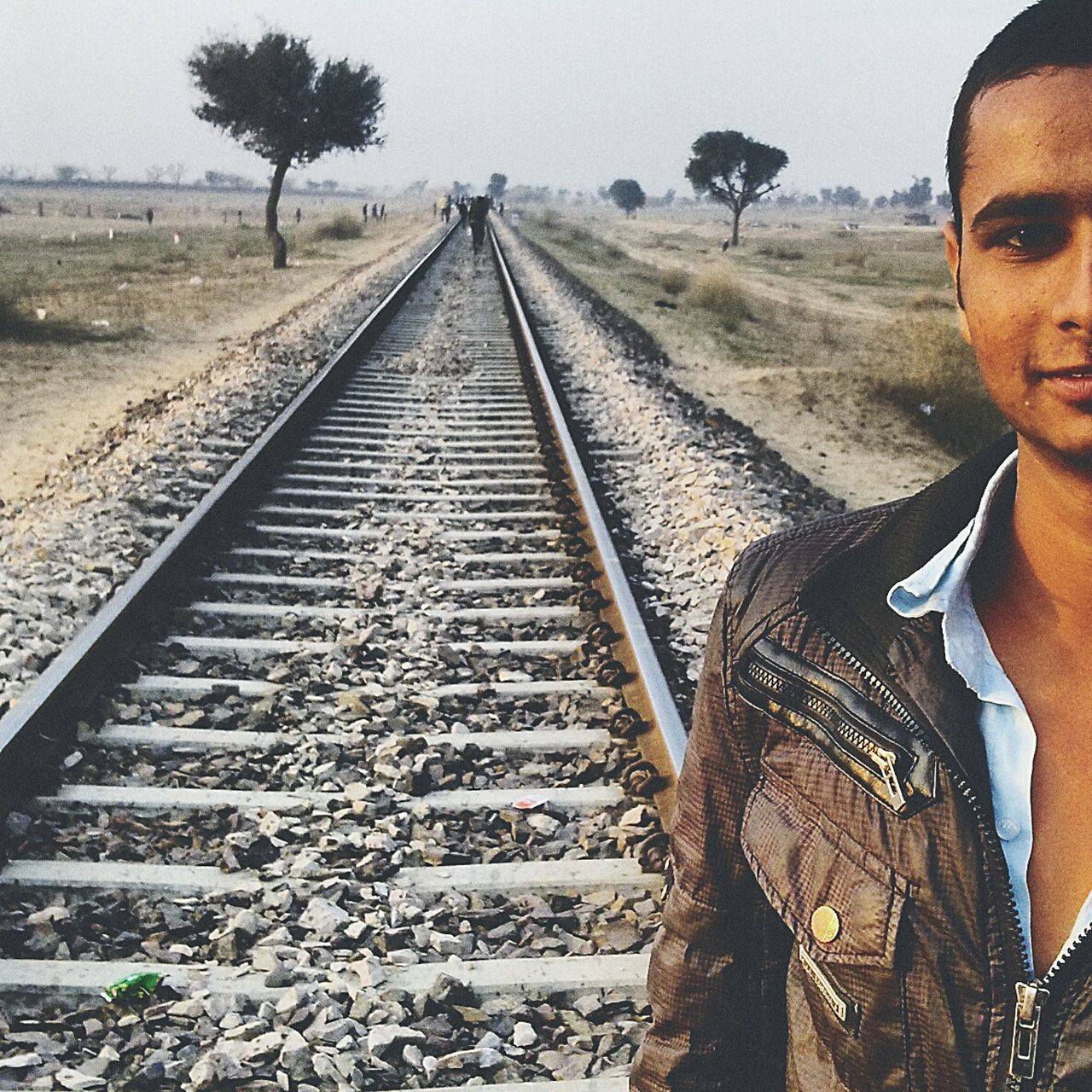 Boys at tracks...!! fahad with ahad Sakal Raggistan Desert Model Rajasthan Simple Awsome Street Fashion The Potraitist - 2015 EyeEm Awards Potrait Exploring New Ground
