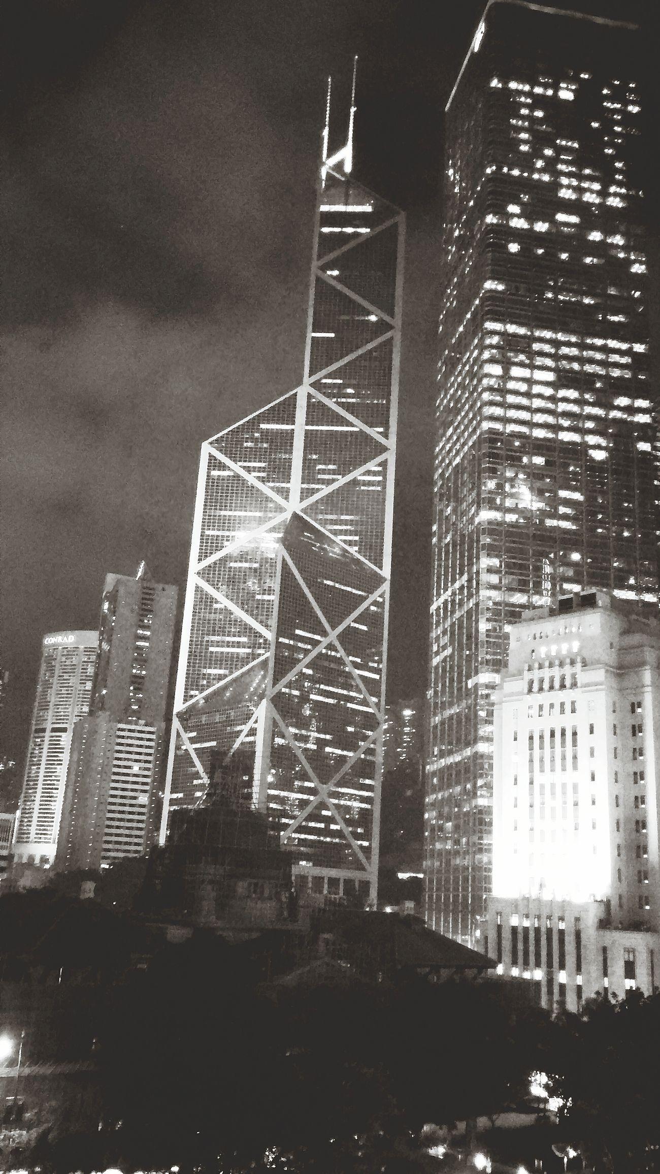 HongKong Skyscrapers Shadows & Lights Eyem Best Shots Nightphotography Night Lights