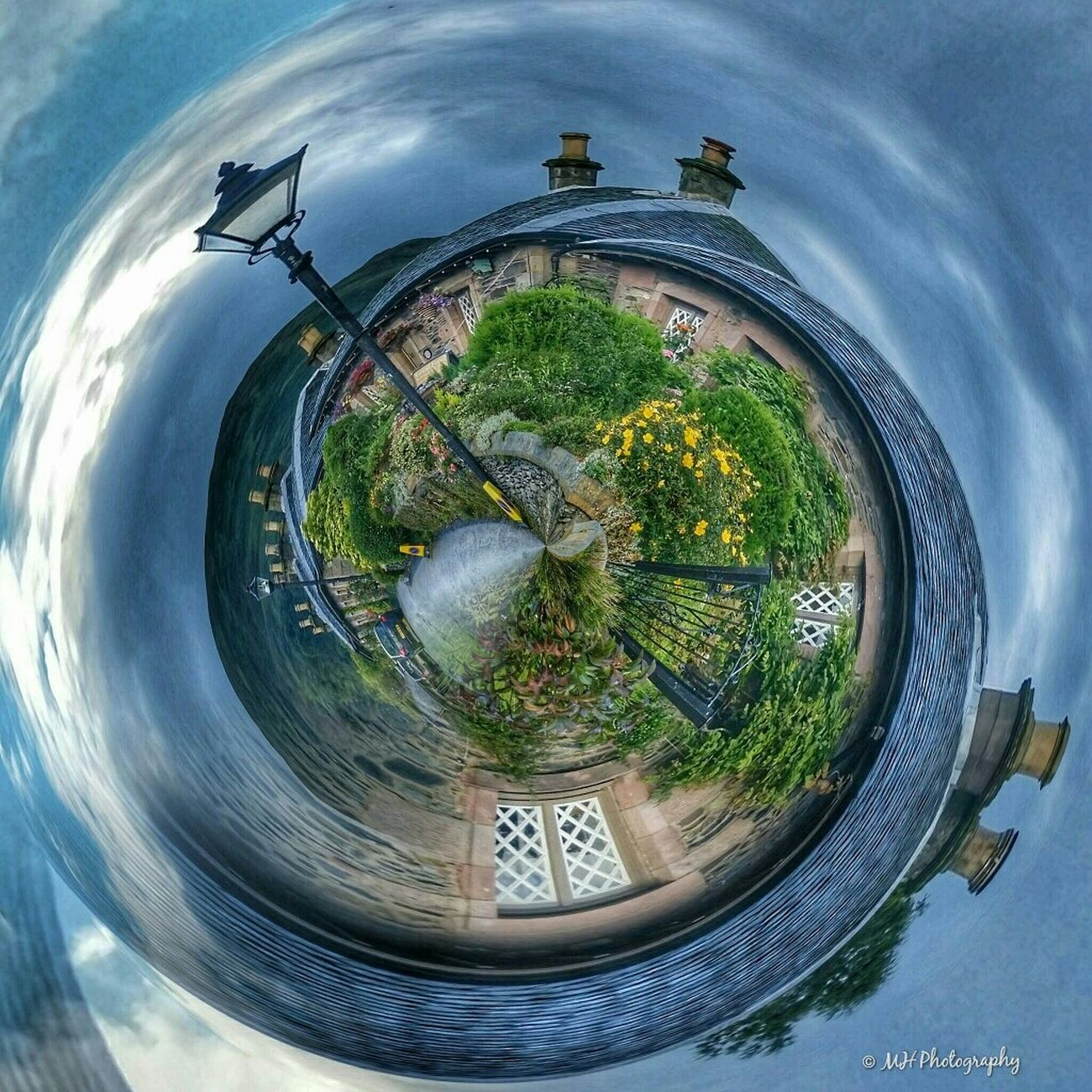 'Beautiful Luss at 360 °' Luss LochLomond Scotland Tinyplanet Tinyplanets Ladyphotographerofthemonth