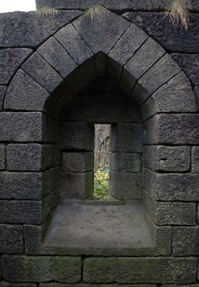 Built Structure Architecture No People Building Exterior Plant Day Outdoors Nature Window Rivington Country Park Ruin Stone Wall