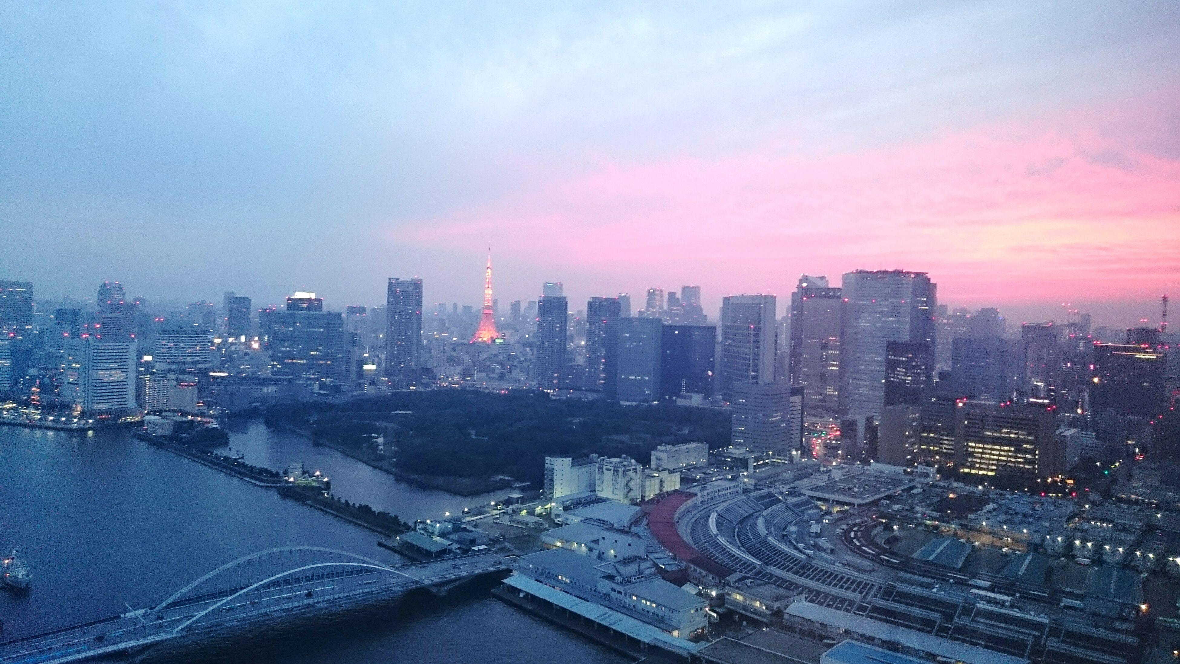 Tokyo Sun_collection, Sky_collection, Cloudporn, Skyporn Japan 勝ちどき Sky