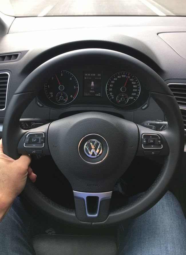 …driving this @VW Sharan towards Rosenheim!