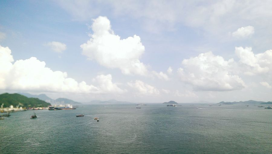 Summer HongKong Sea Moon Favorite