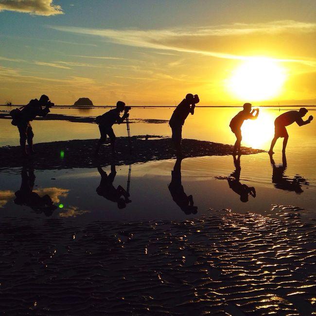 Sunrise Hunters ! The Explorer - 2014 EyeEm Awards The Moment - 2014 EyeEm Awards INDONESIA EyeEm Best Shots