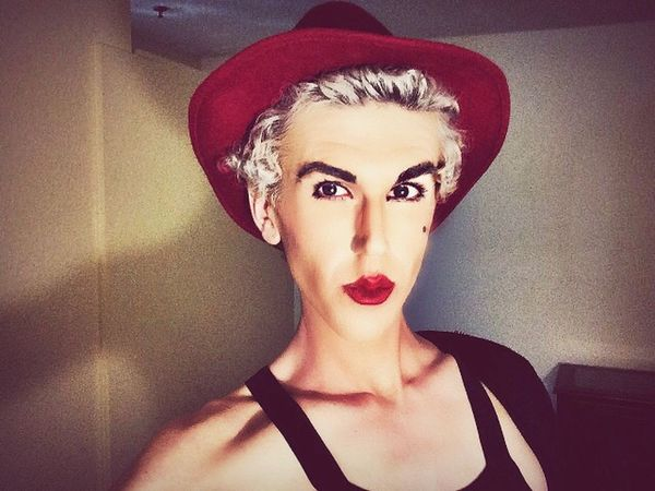 Beauty Redefined Genderbend the rules. Gender Trans Beauty Red Lipstick Queer Lgbtq Lovewins