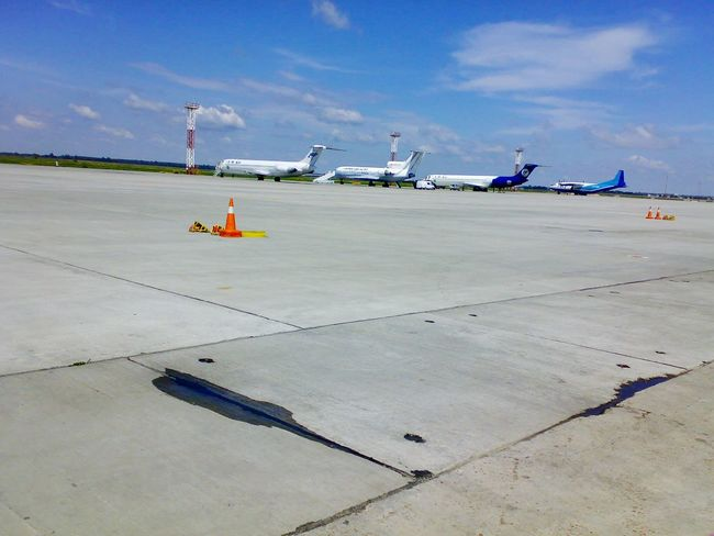 2008 Bulgaria Airport Burgas  Planes