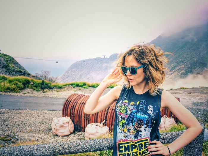 Sunglasses Outdoors Summer Travel Adult Vacations One Person Heat - Temperature People Adults Only Nature Day Travel Destinations Young Adult Only Women Sunset Beauty In Nature Desert Women Adventure Japan