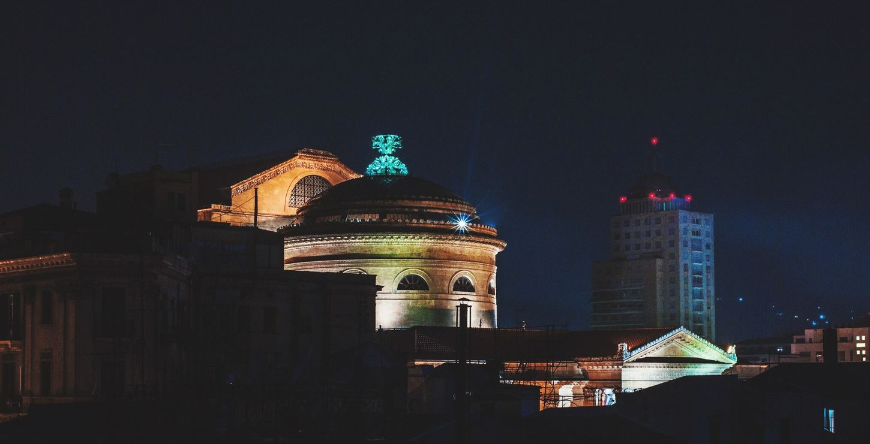 Skyline Palermo Theater Night 22/f