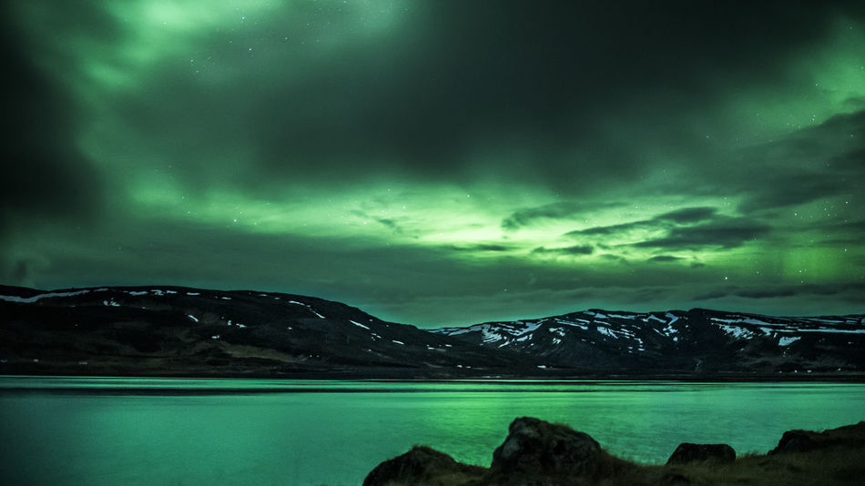 Aurora Borealis, the reason why I went to Iceland. Astronomy Aurora Aurora Borealis Aurora Polaris Awe Beauty In Nature Dramatic Sky Iceland Lake Landscape Mountain Mountain Range Nature Night No People Northern Lights Outdoors Scenics Sky Star - Space Tranquil Scene Tranquility Water
