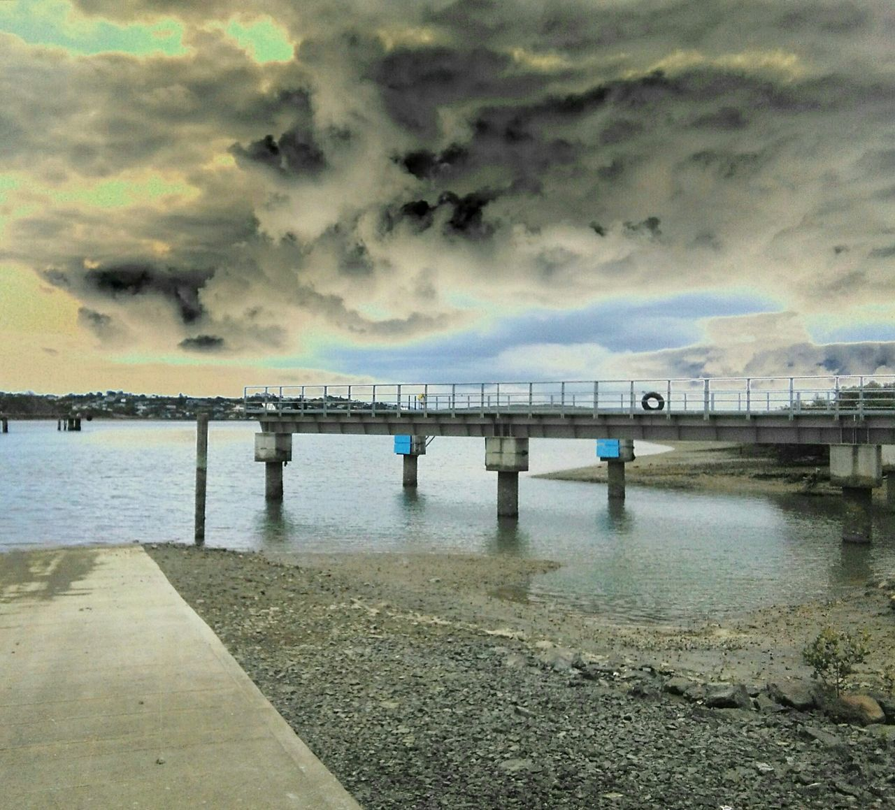 Water Sea Sky Pier Bridge - Man Made Structure Cloud - Sky Outdoors No People Day Stormclouds Weather Photography Beauty In Nature Port Whangarei New Zealand Nature Scenics Waterfront Clouds And Sky Angry Storm