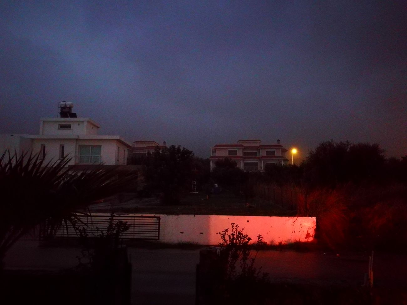 Darkness Sky Cyprus Girne Night Rainyday